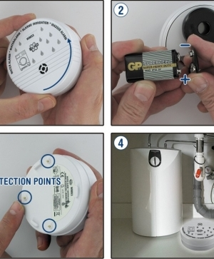 ELRO Water alarm WM53 - воден аларм